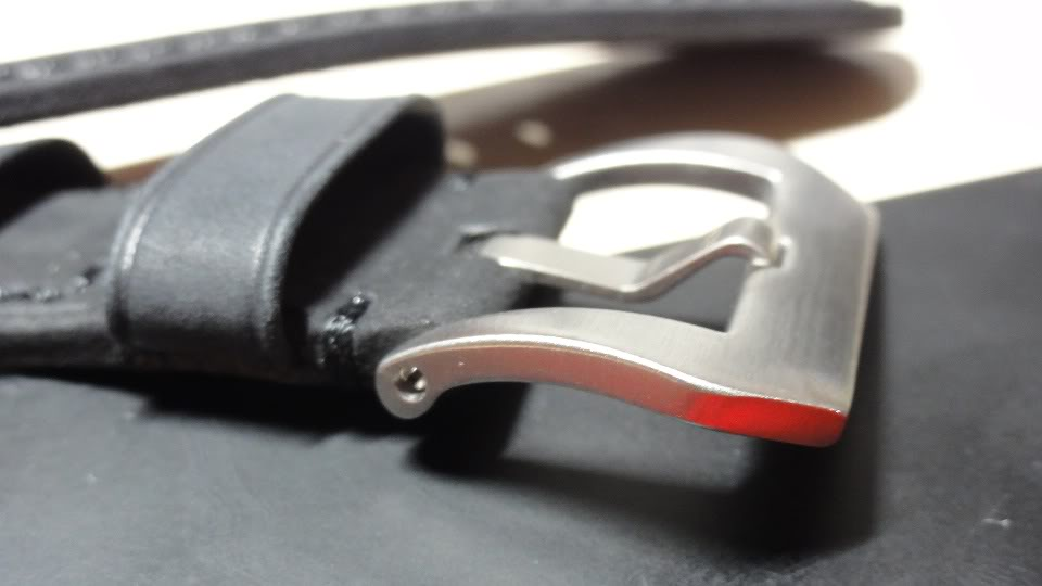 For sale : Strap Works >> 24/22, 24/24 & 26/26 calf leather straps & Big Decima buckles Thickswbuckle