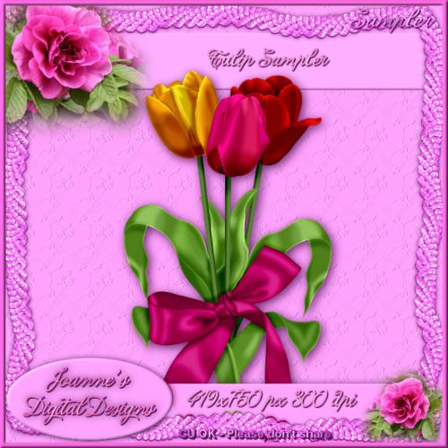 CU Sampler - Tulips by JoanneM JDDTulipSamplerPreview