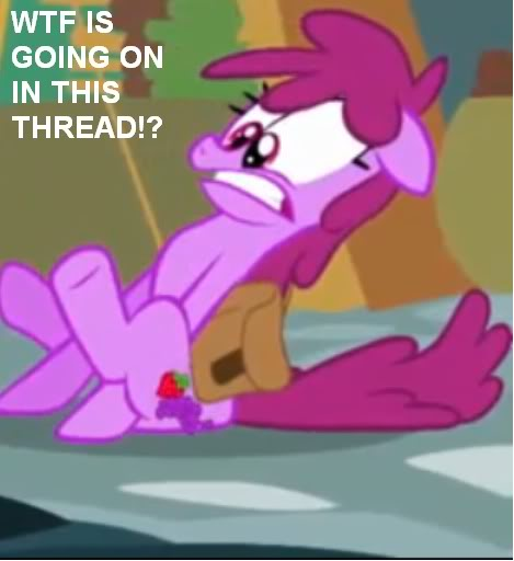 The My Little Pony Thread  WTF