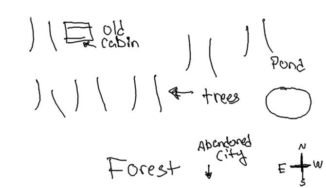 Forever Loveless [IC thread] Forestmap
