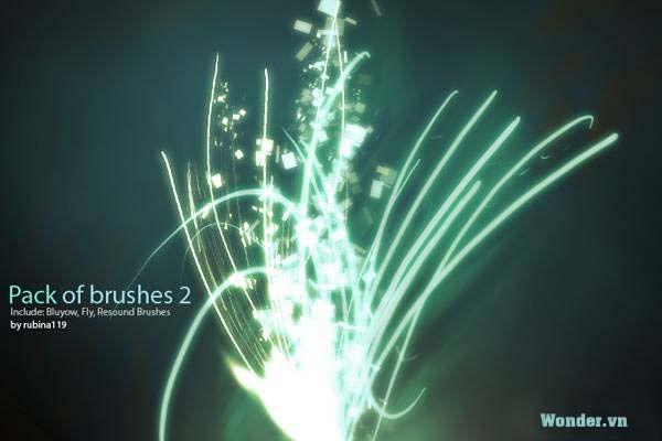 Brush Light effect Wondervn_BrushesPack2