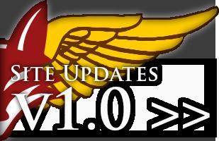 Site Version 1.0 HalfFoxSiteUpdates