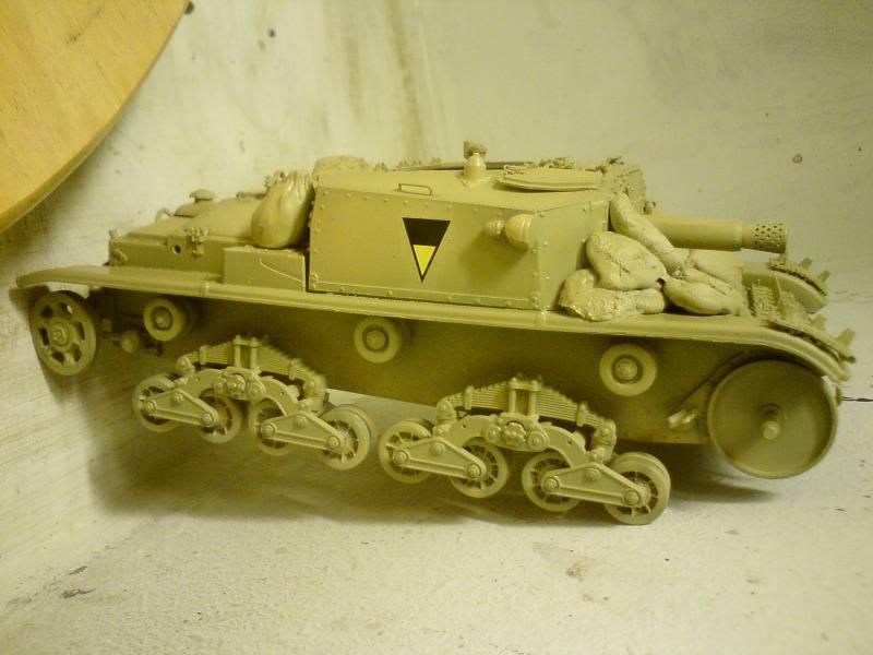 Italeri Semovente M40 - Sida 3 Htht