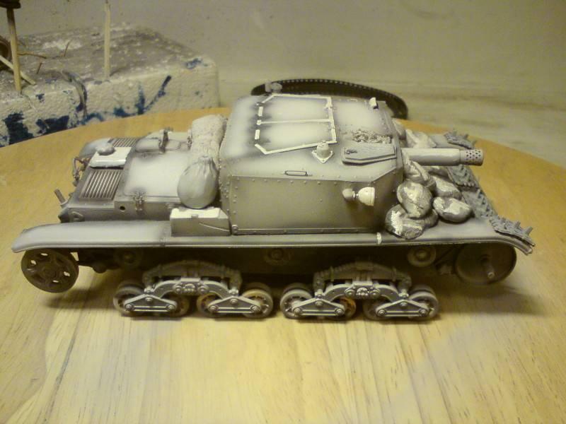 Italeri Semovente M40 - Sida 3 Tyjy