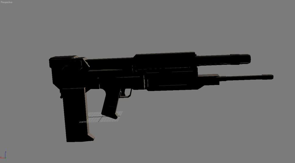 Termy Gun made T-gun