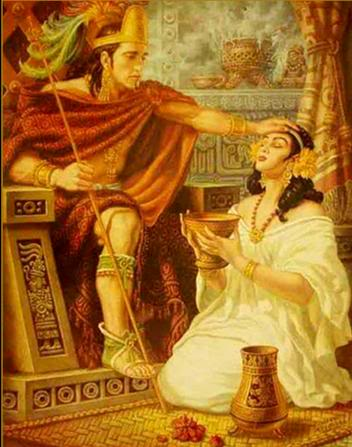 pinturas de helguera Xochitl