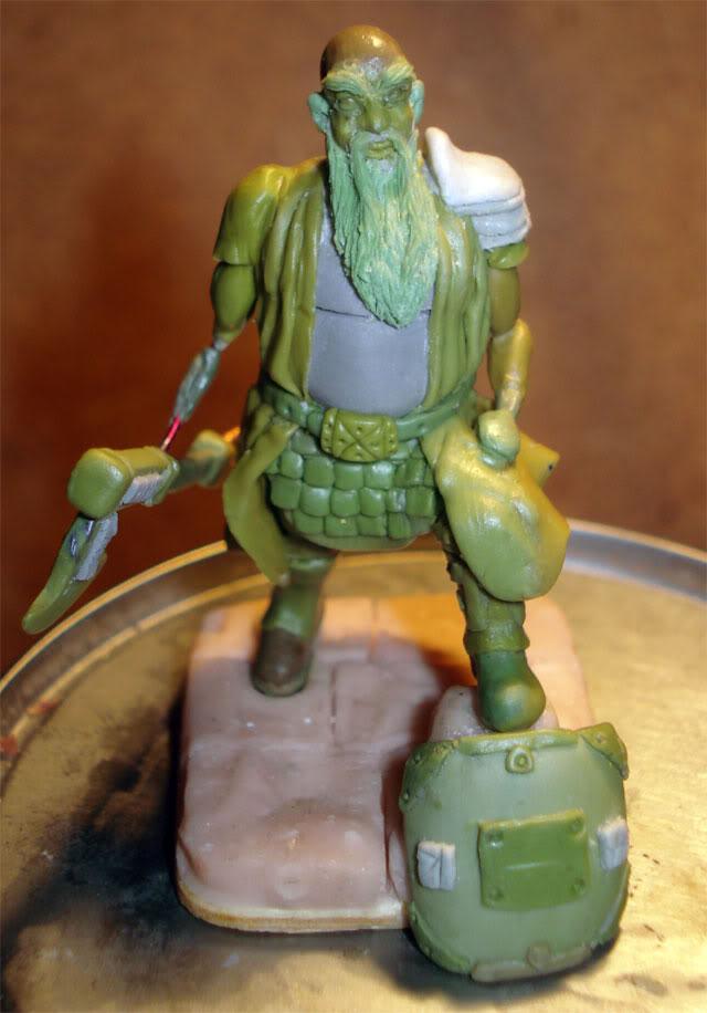 guerrero enano en escala 1/32 actualisacion 29 de julio fotos en ultima hoja Dwarf41