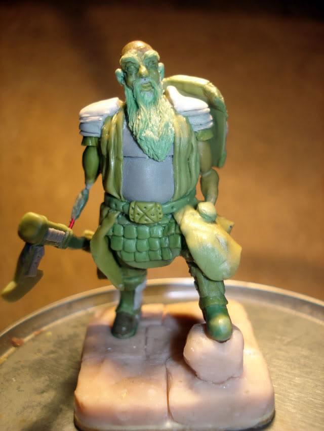 guerrero enano en escala 1/32 actualisacion 29 de julio fotos en ultima hoja Dwarf42