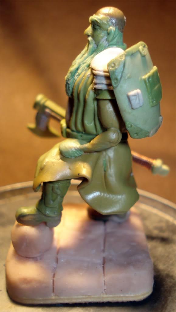 guerrero enano en escala 1/32 actualisacion 29 de julio fotos en ultima hoja Dwarf45