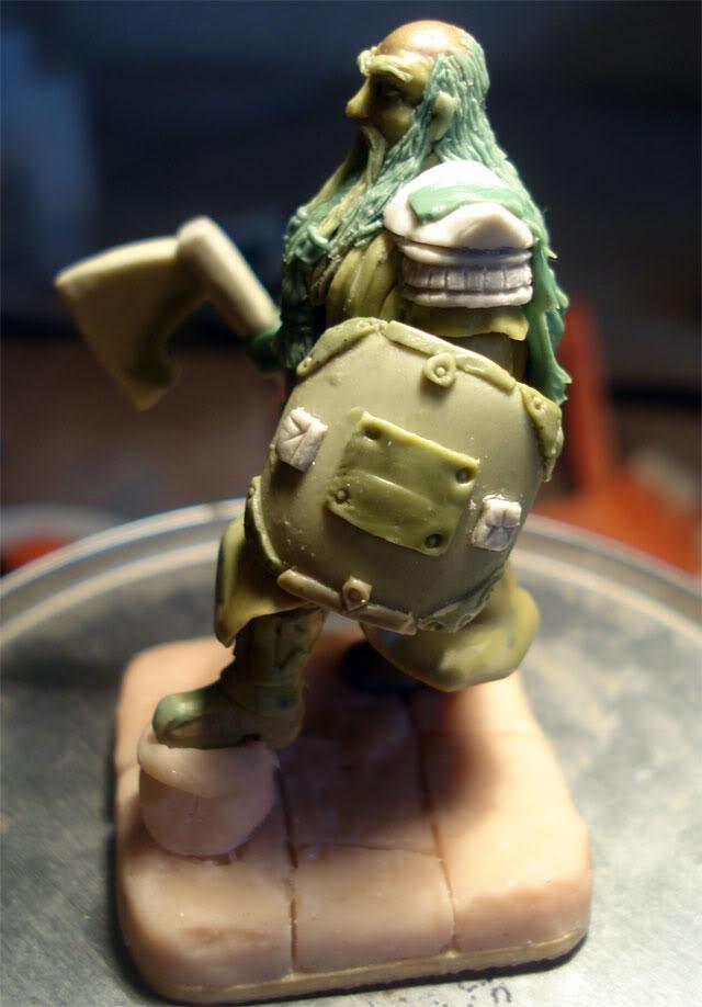 guerrero enano en escala 1/32 actualisacion 29 de julio fotos en ultima hoja Dwarf51