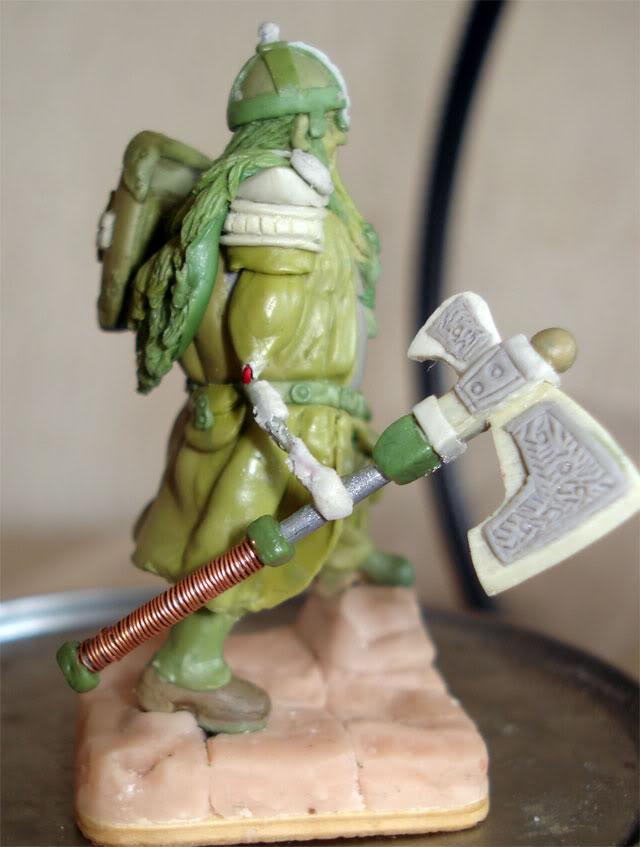 guerrero enano en escala 1/32 actualisacion 29 de julio fotos en ultima hoja Dwarf61
