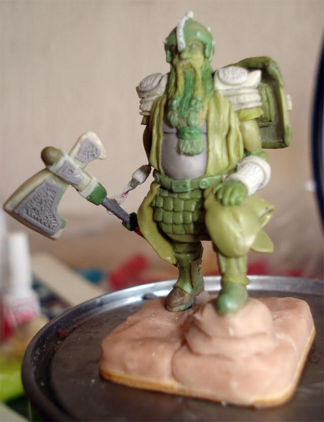 guerrero enano en escala 1/32 actualisacion 29 de julio fotos en ultima hoja Dwarf64
