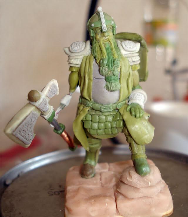 guerrero enano en escala 1/32 actualisacion 29 de julio fotos en ultima hoja Dwarf65