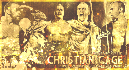 The most must-see superstar is BACK on WaW. ChristianCage