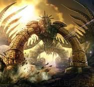 List of Gods Original__Ancient_Golem_Battle_b-1