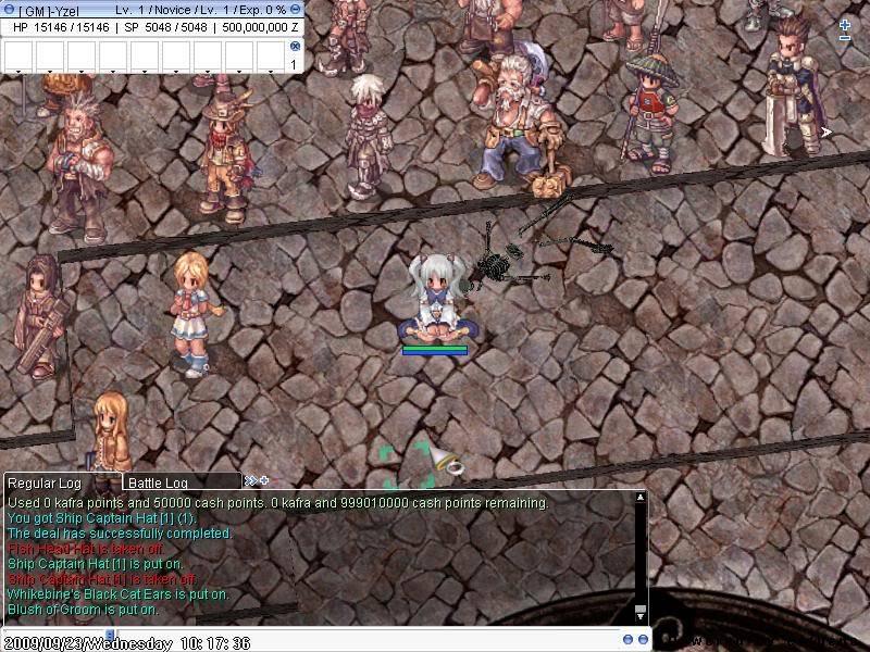 • Screen Shots of the server • ScreenYzeL000