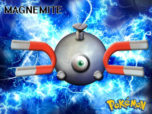 My POKEMON Creations Magnemite02
