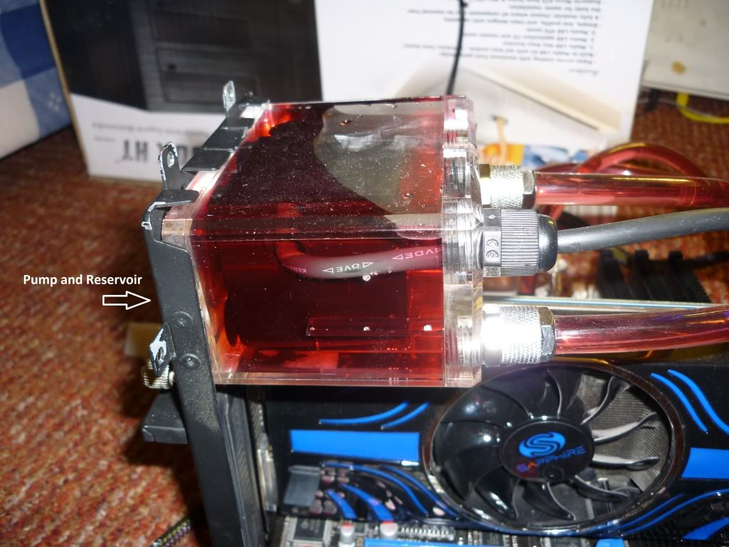 Thermaltake Lanbox HT Watercooled, Extremely modified. 0012