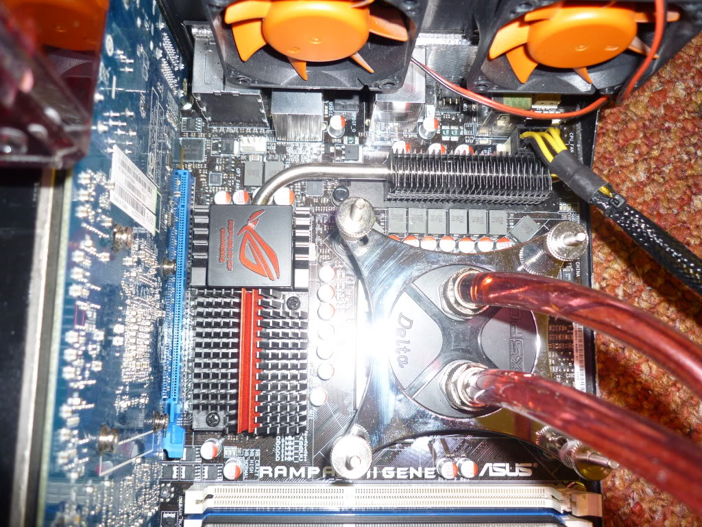 Thermaltake Lanbox HT Watercooled, Extremely modified. 0014