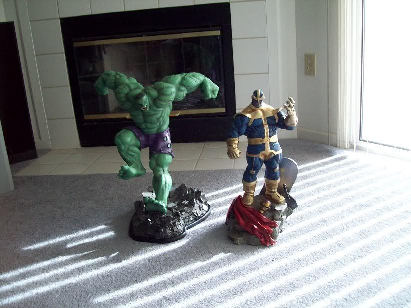 Sideshow Thanos and Mistress Death Polystone Diorama - LANÇADO!!! - Página 4 Hulkthanos