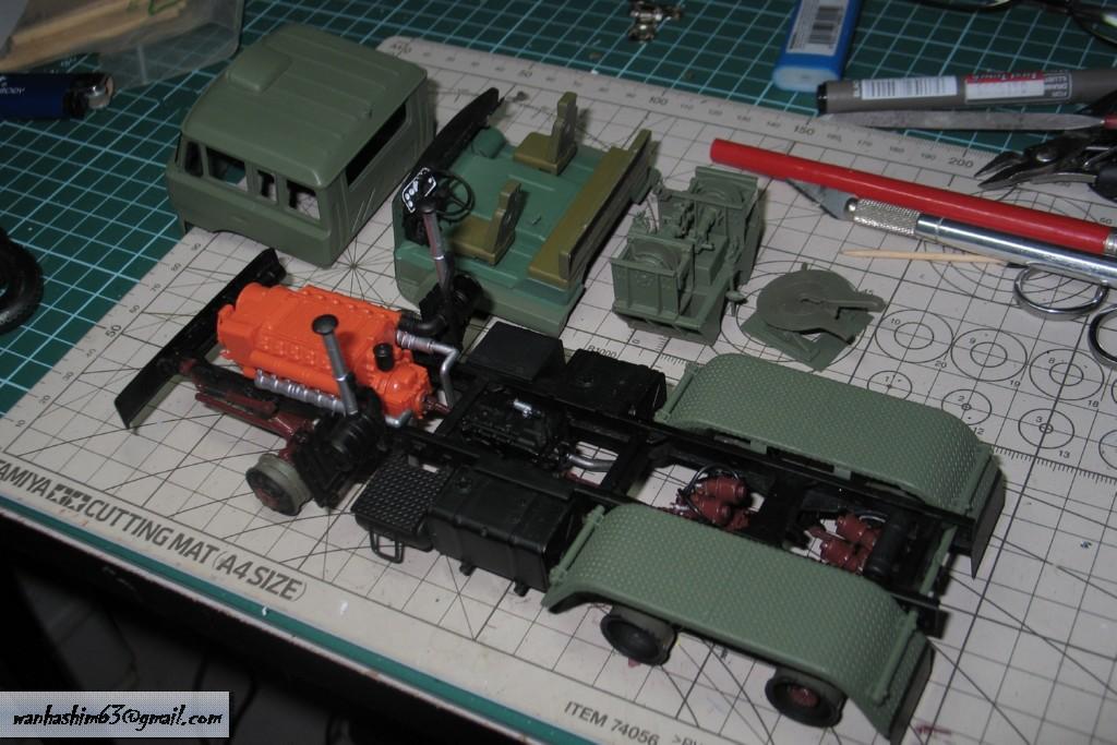 Trak 50 Tan Pengangkutan Kereta Kebal China C50TT021