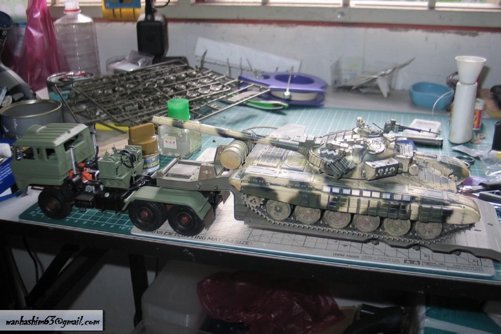 Trak 50 Tan Pengangkutan Kereta Kebal China C50TT035