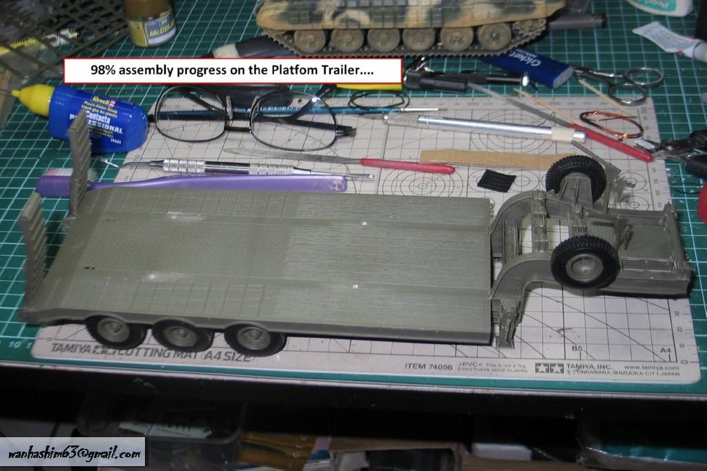Trak 50 Tan Pengangkutan Kereta Kebal China C50TT042