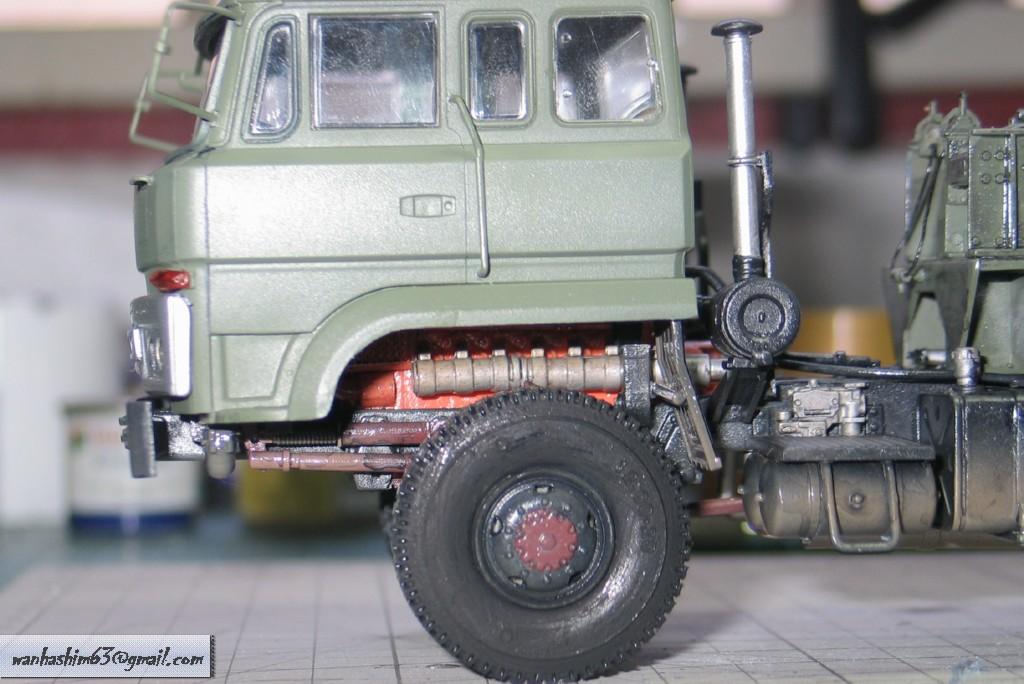 Trak 50 Tan Pengangkutan Kereta Kebal China C50TT055