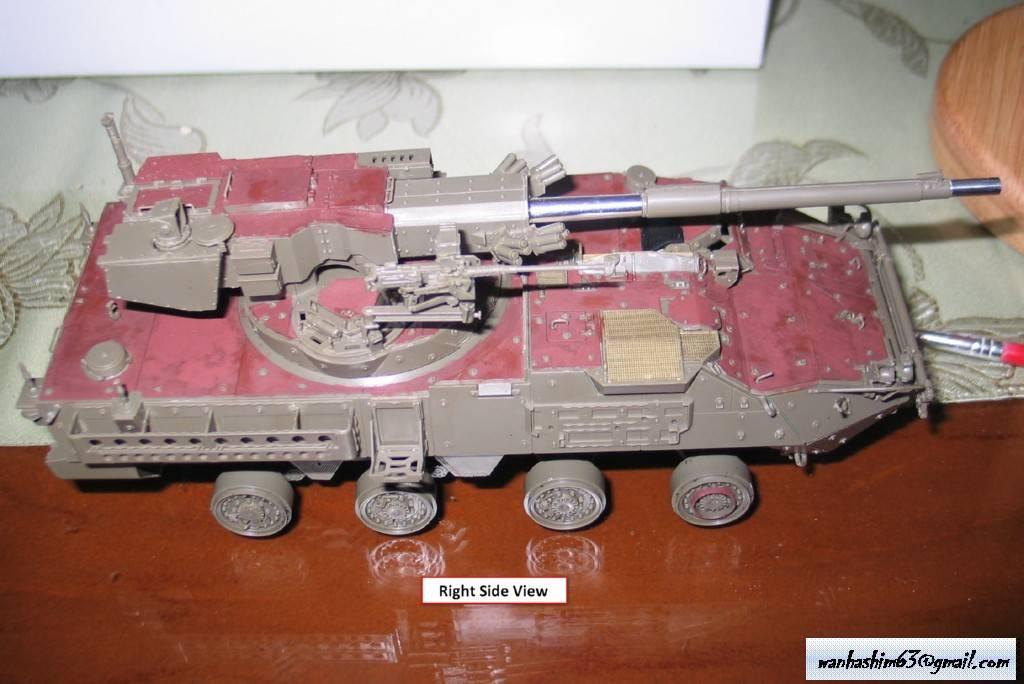 Stryker Mobile Gun System MGS-WIP-01-05