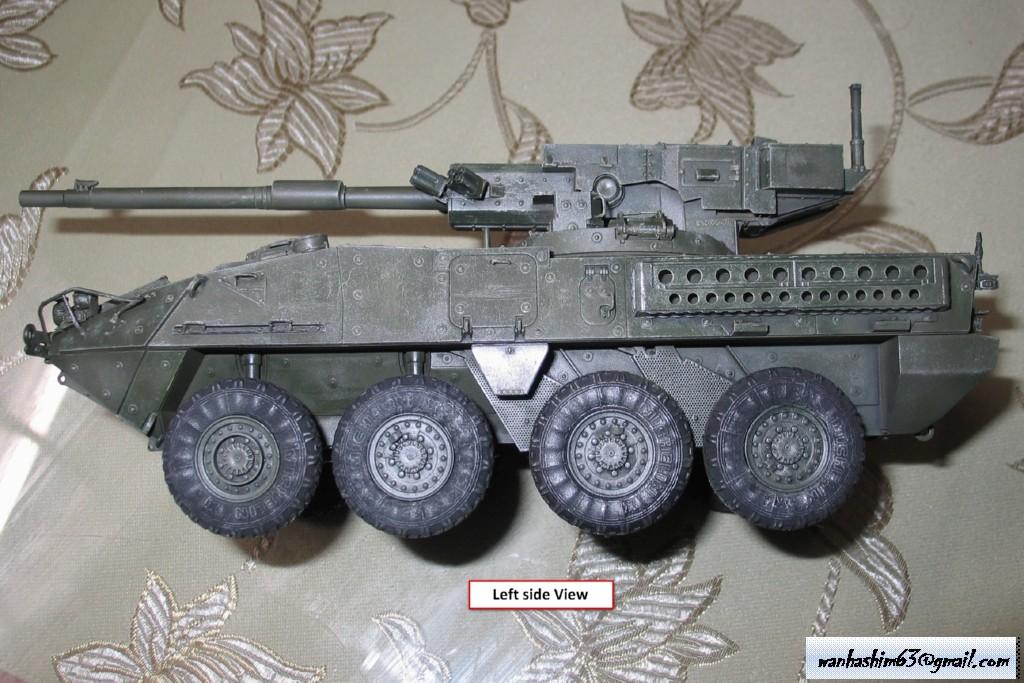 Stryker Mobile Gun System MGS-WIP-01-18