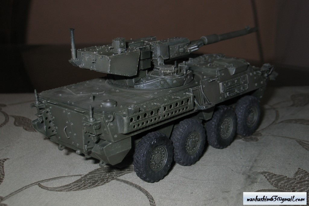 Stryker Mobile Gun System MGS-WIP-01-21