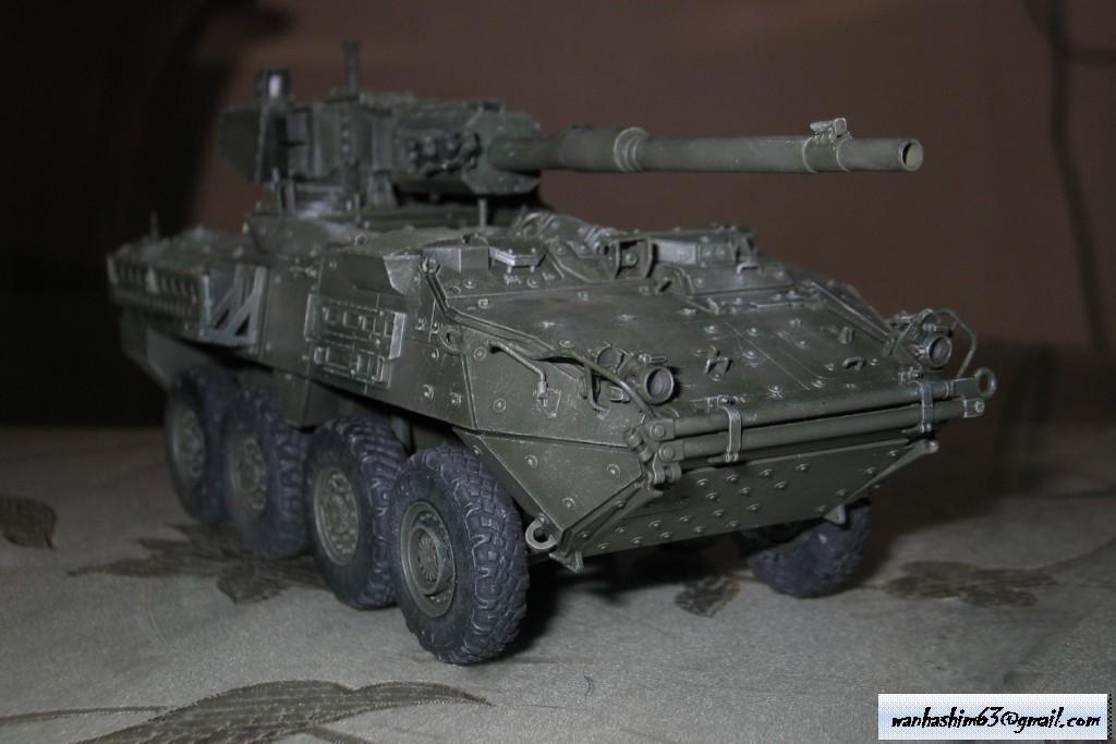 Stryker Mobile Gun System MGS-WIP-01-22