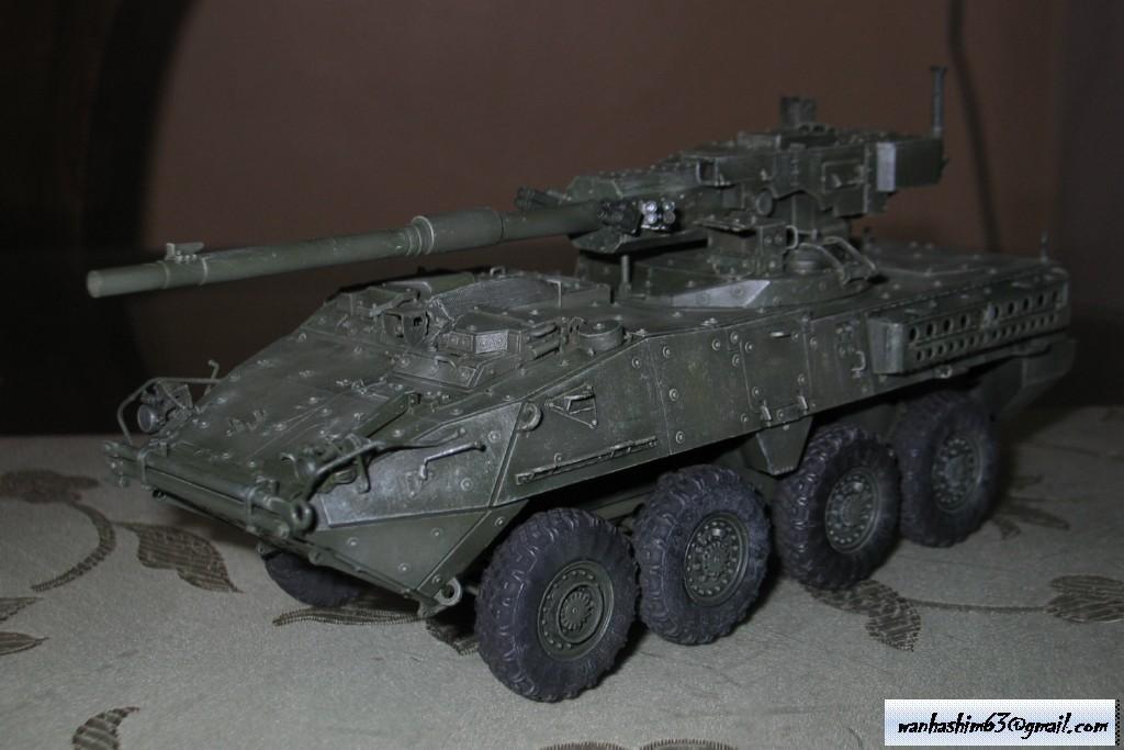 Stryker Mobile Gun System MGS-WIP-01-23