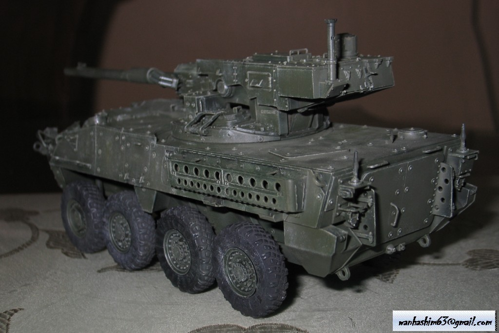 Stryker Mobile Gun System MGS-WIP-01-24