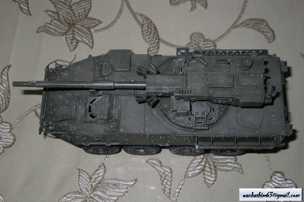 Stryker Mobile Gun System MGS-WIP-01-25
