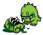 Adopt a CUte monster * first half* Monster