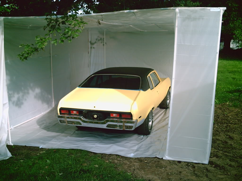 HOW TO CREATE A PAINT BOOTH IN YOUR GARAGE 056