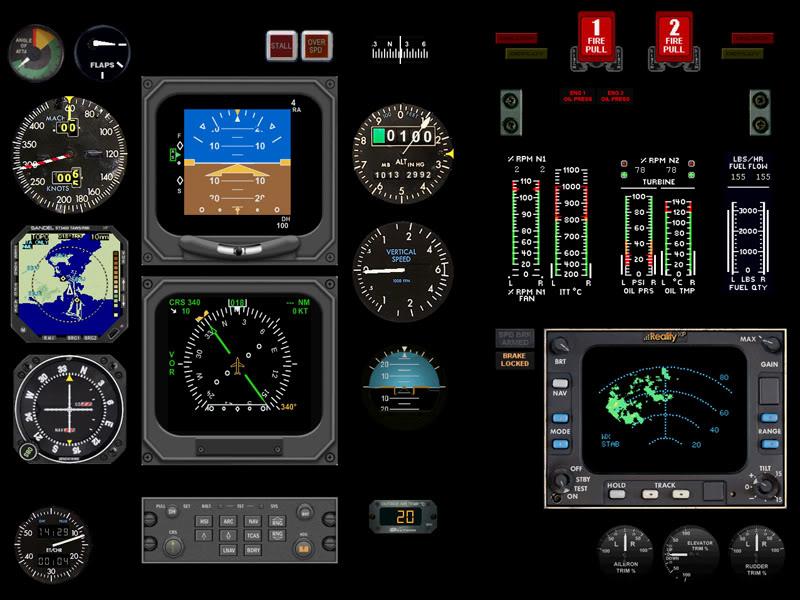 Meu cockpit genérico 40