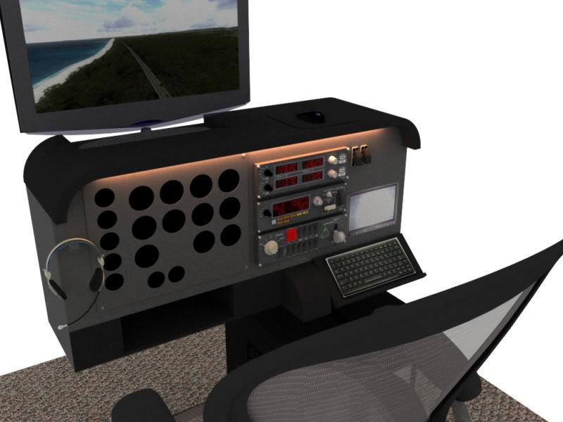 Cockpit Aviação Geral Projeto02
