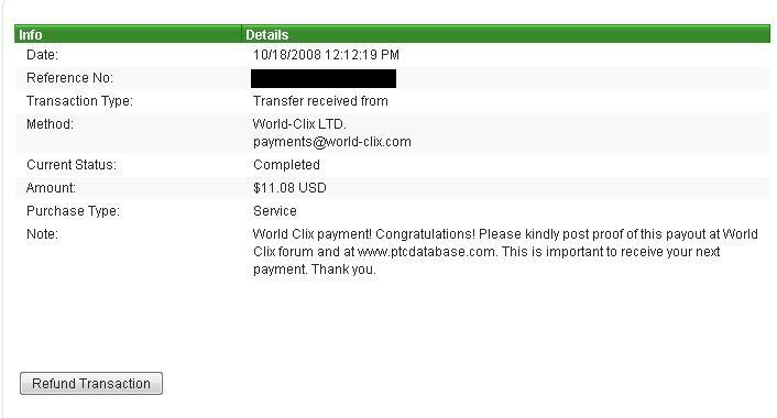 my first payment ever in world-clix!!!!! wohoooooo... World-clix-1