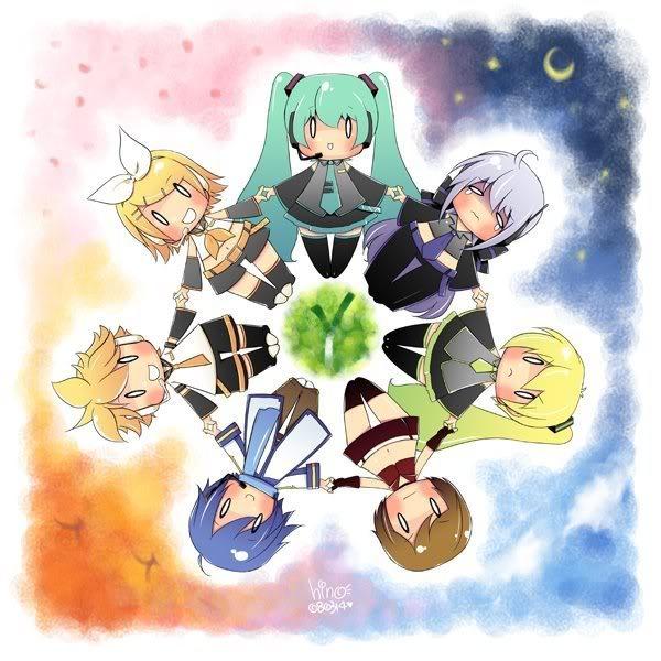 Galería de imágenes de Vocaloid [Sólo imágenes] Vocaloidworld