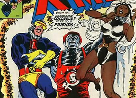 X-Men: Cenas engracadas Curiosidadecolossus