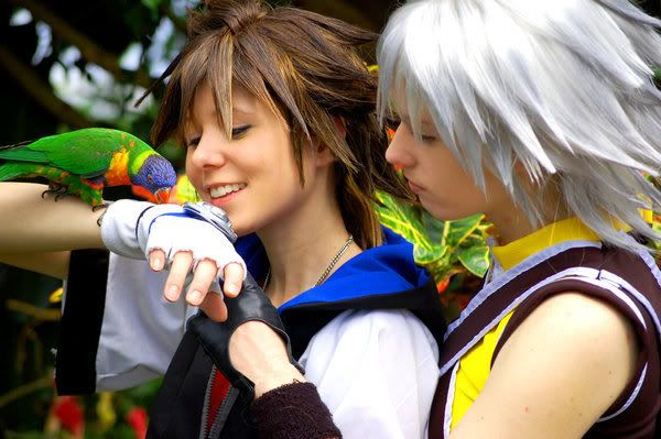 Sora & Riku- Colorful Love Pictures, Images and Photos