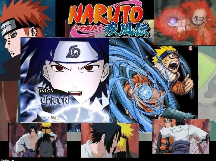 Naruto-Black Chidori