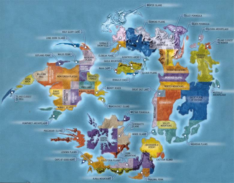 The Collection of World Maps (large images) Map