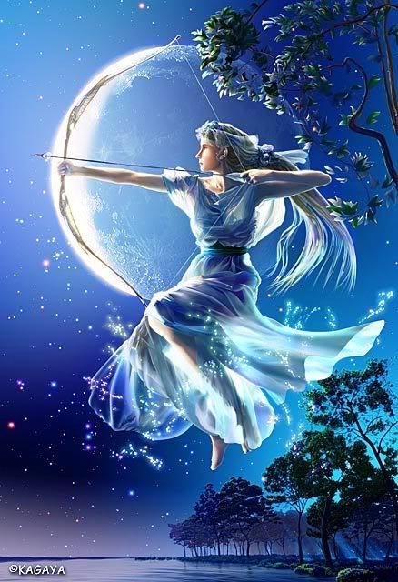 Cung hoàng đạo và những vị thần bảo trợ!!! Artemis