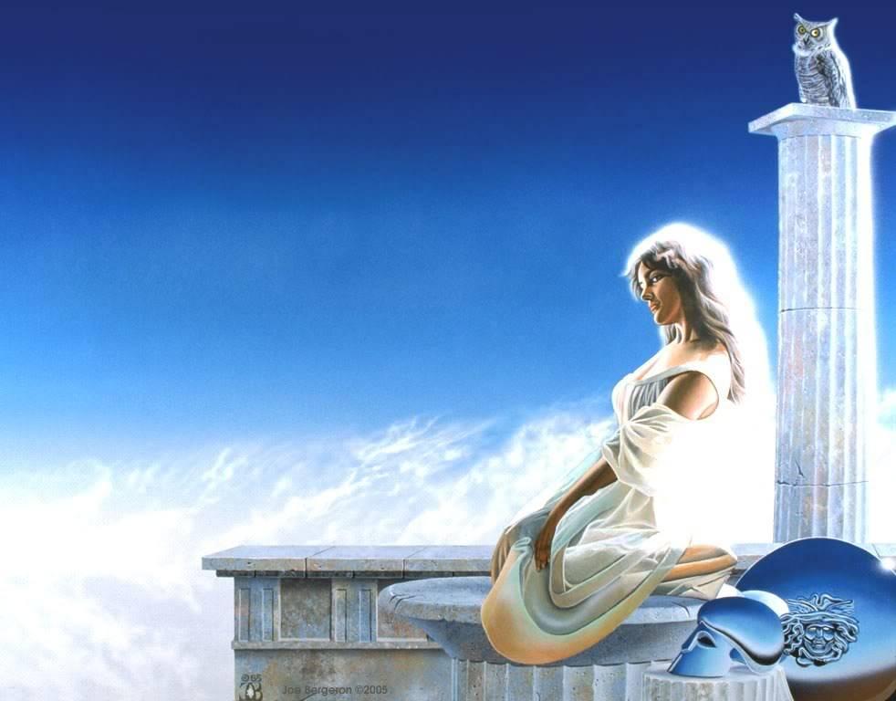 Cung hoàng đạo và những vị thần bảo trợ!!! Athena