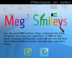 **GRATIS** ACTUALIZADO Mega Smileys Free v1.4.0 (Más de 1000 Smileys, Banderas, simbolos especiales, GIF y mas) 1-2