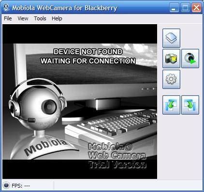 Mobiola WebCam (Convierte tu Blackberry en una cámara web para Windows) 31vm1