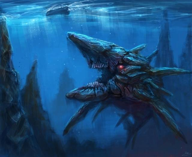 New Creatures We Would Like To See In FO4.?  Leviathan